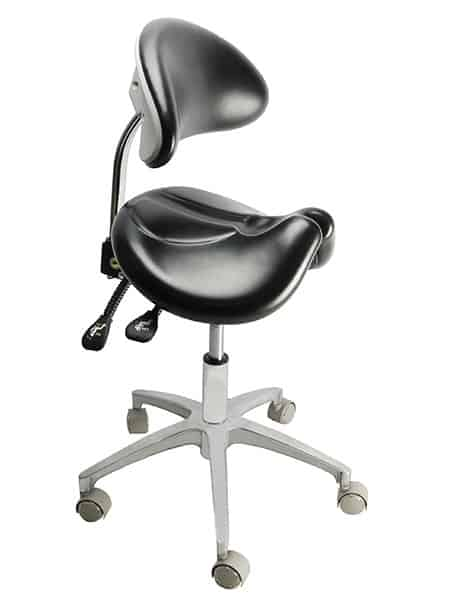 Saddle Stool TS01, Dental Stool, Ergonomic Chair