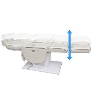 Ajuste de altura-Silla de tratamiento eléctrica para trasplante de cabello-TRONWIND