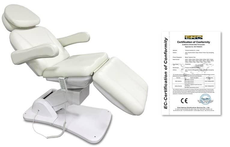 Camilla para Estética de Tronwind TEP05-3 CE certificate