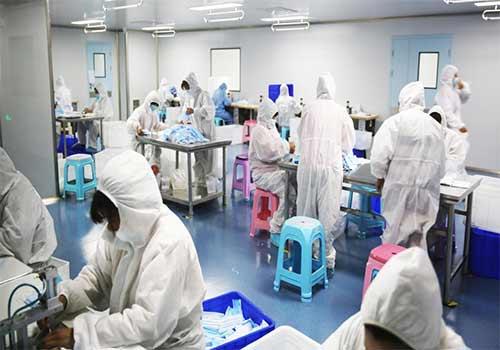 Distribuidor de mascarillas quirúrgicas desechables