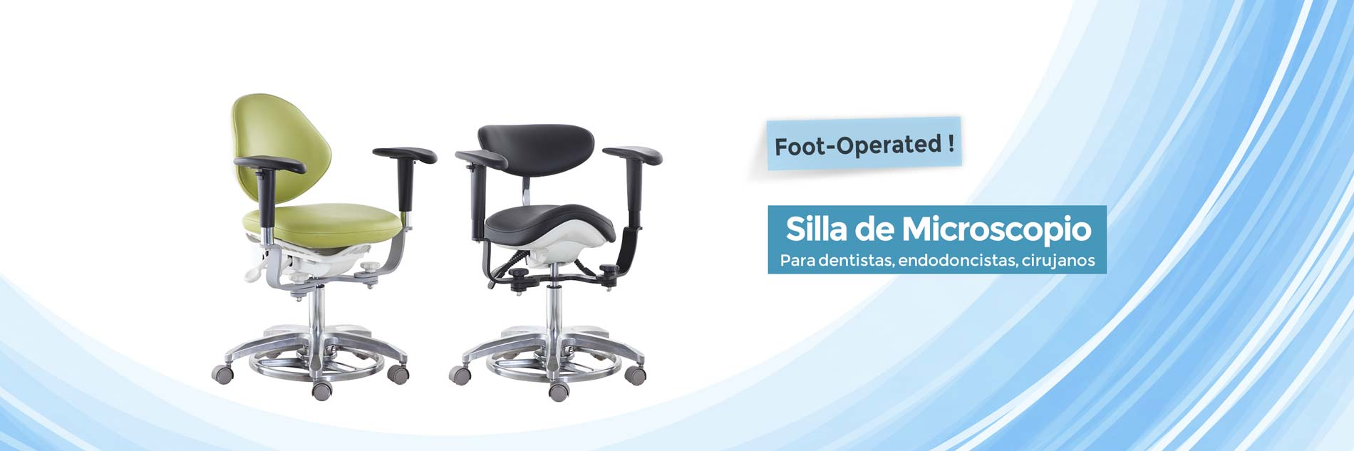 Silla de Microscopio-TRONWIND MEDICAL CHAIRS