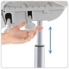 Tronwind-Control de altura manual